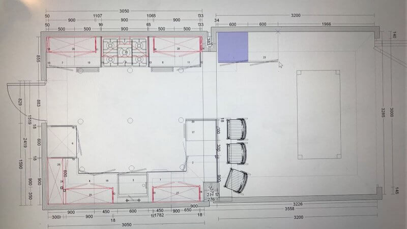 Latest kitchen layout coming together in this beautiful victorian home nest design build Victorian kitchen design layout